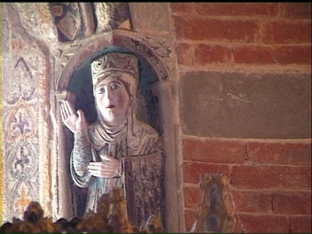 Santa maria a vezzolano interno - Finestra a due archi ...