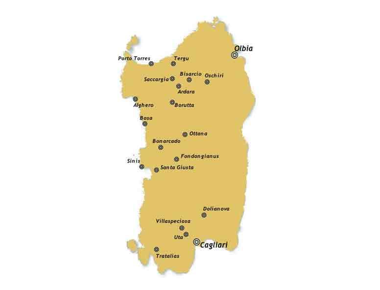Cartina Sardegna Medievale.Sardegna