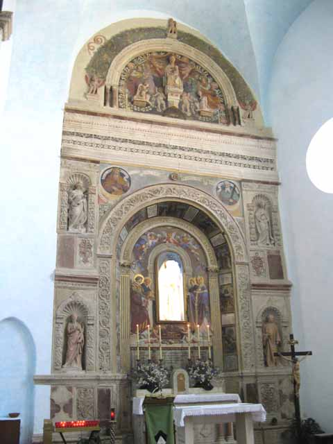 Altar by Agostino di Duccio - Perugia St Domenico